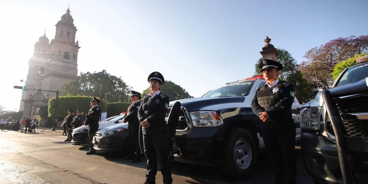 Arranca operativo de seguridad en Morelia por Semana Santa