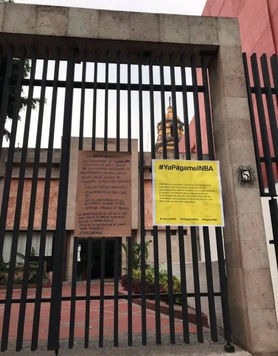 Reclaman trabajadores culturales hasta 3 meses de adeudo — YaPágameINBA
