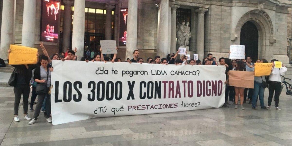 Trabajadores protestan en redes con el #YaPágameINBA