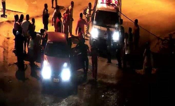 ECU 911 Vehículo atropelló a grupo de personas y dejó 26 heridos