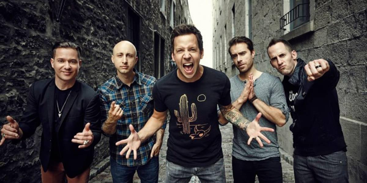 Simple Plan faz 5 shows no Brasil em maio