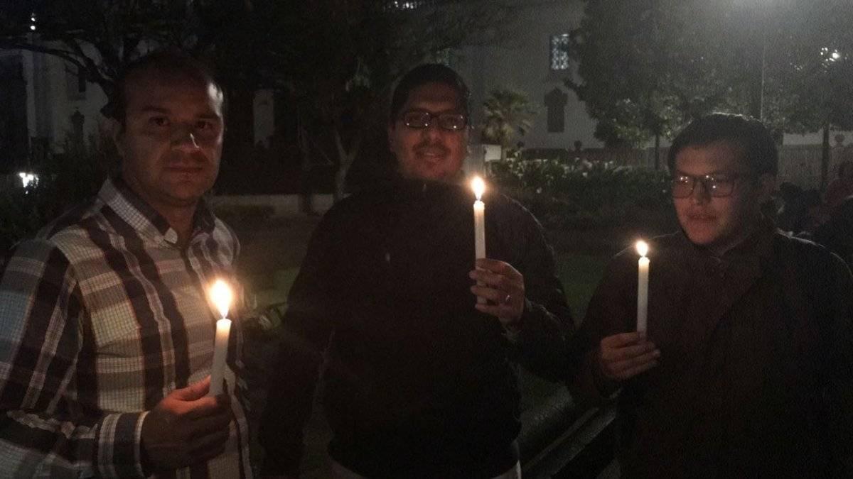 Vigilia de solidaridad por el secuestro del equipo de El Comercio