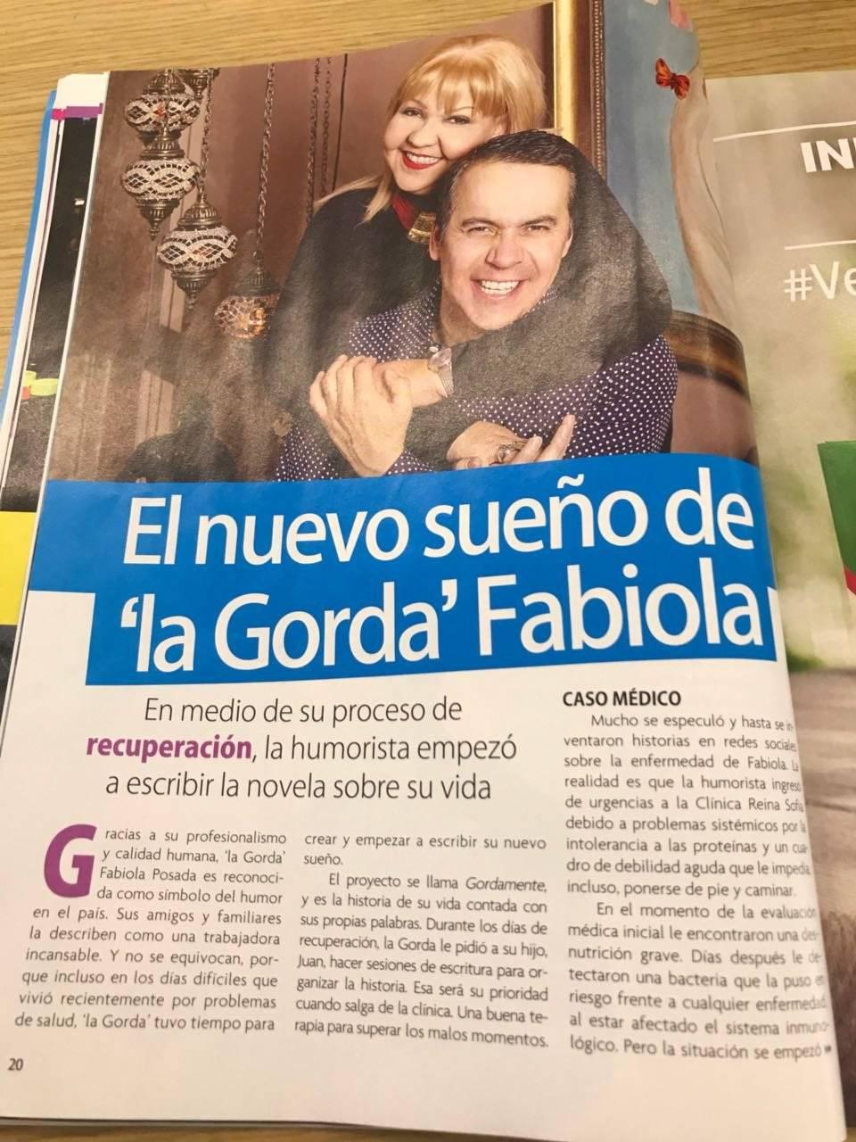 La gorda Fabiola