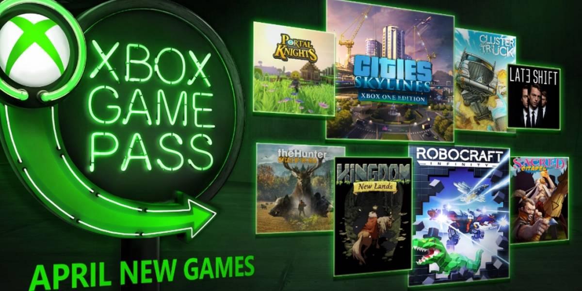 Estos son los ocho juegos que llegarán a Xbox Game Pass en abril