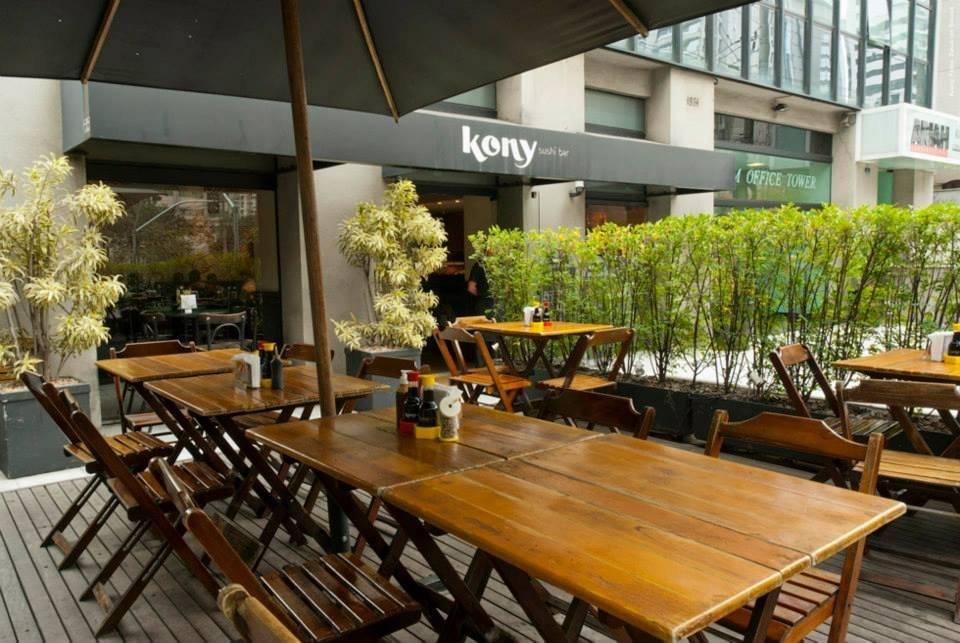 Kony Sushi Bar: Rua Gomes de Carvalho, 1581 - Vila Olímpia. Tel.: (11) 3044-5283 (a unidade dos Campos Elíseos não está participando da RWSP) Divulgação