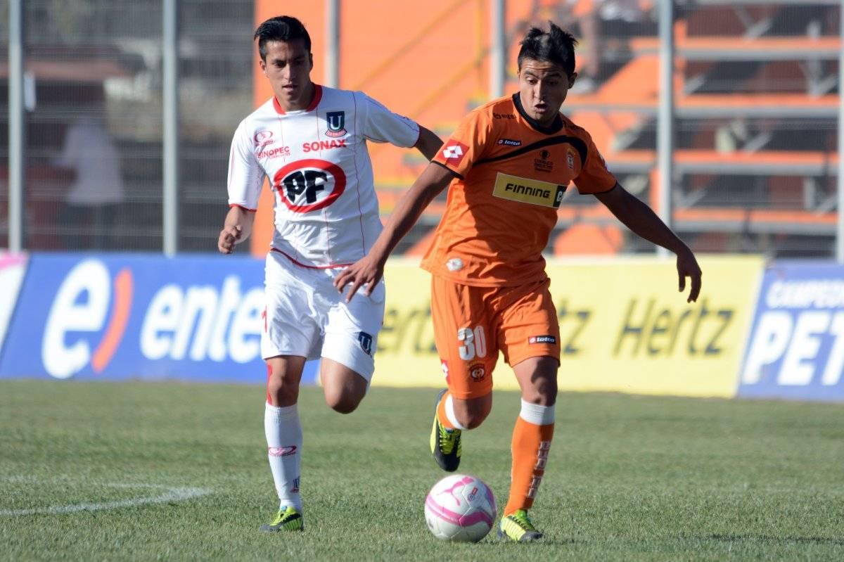 Carlos Ross en Unión La Calera