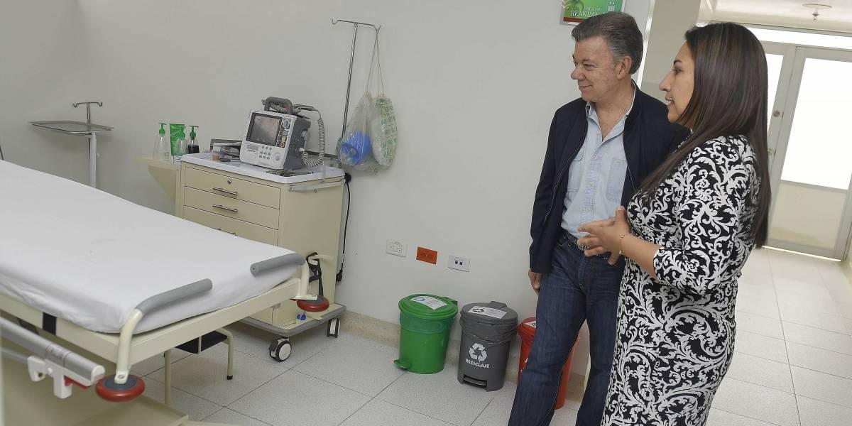 """Santos: """"El sistema de salud de Colombia es uno de los más generosos del mundo"""""""