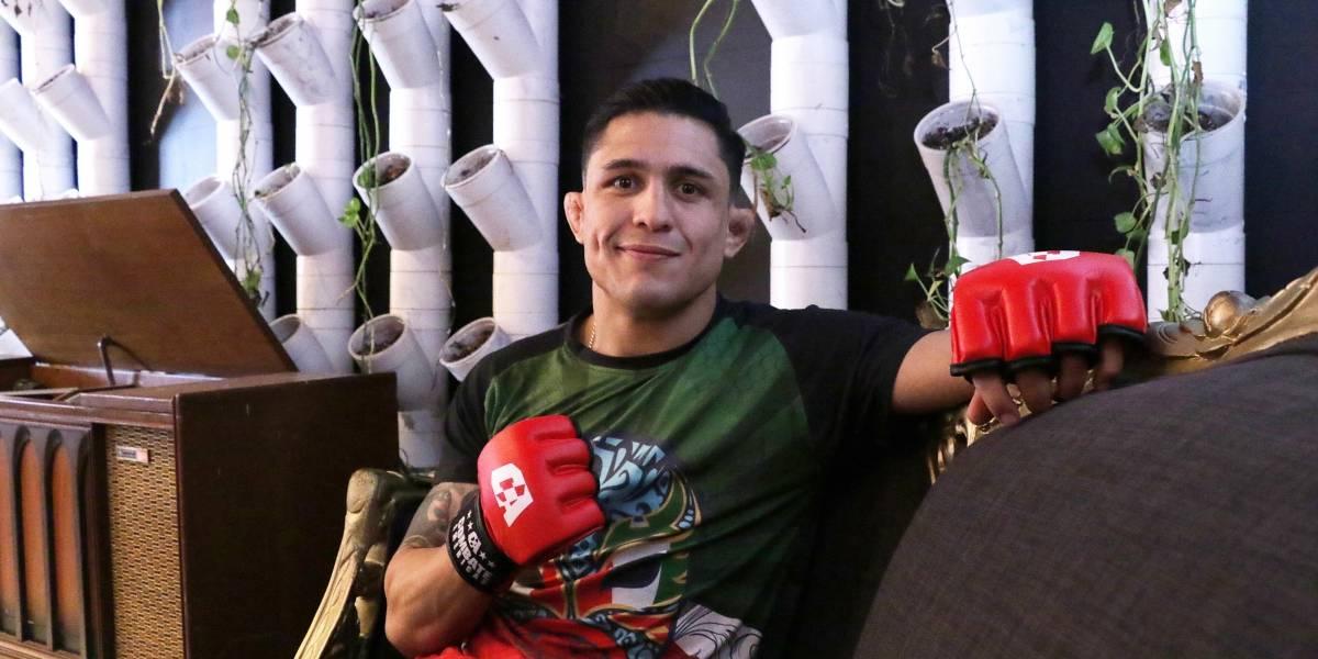 Erick 'Goyito' Pérez  Está cómodo de pelear en casa