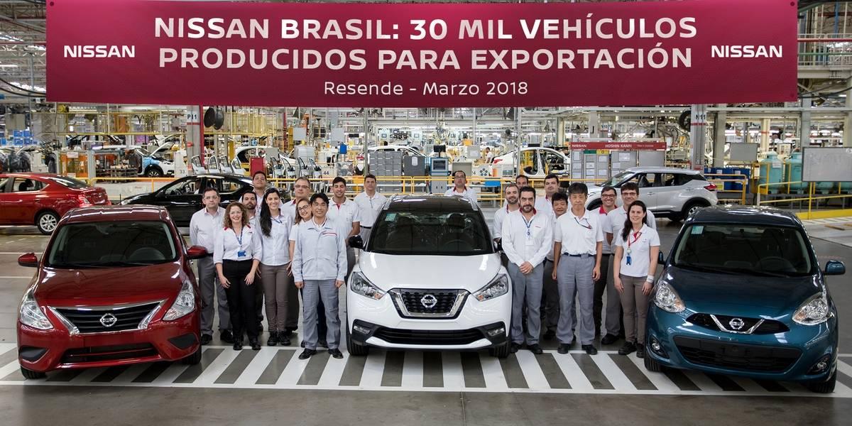 La fábrica de Nissan en Brasil celebra las 30 mil unidades para exportación