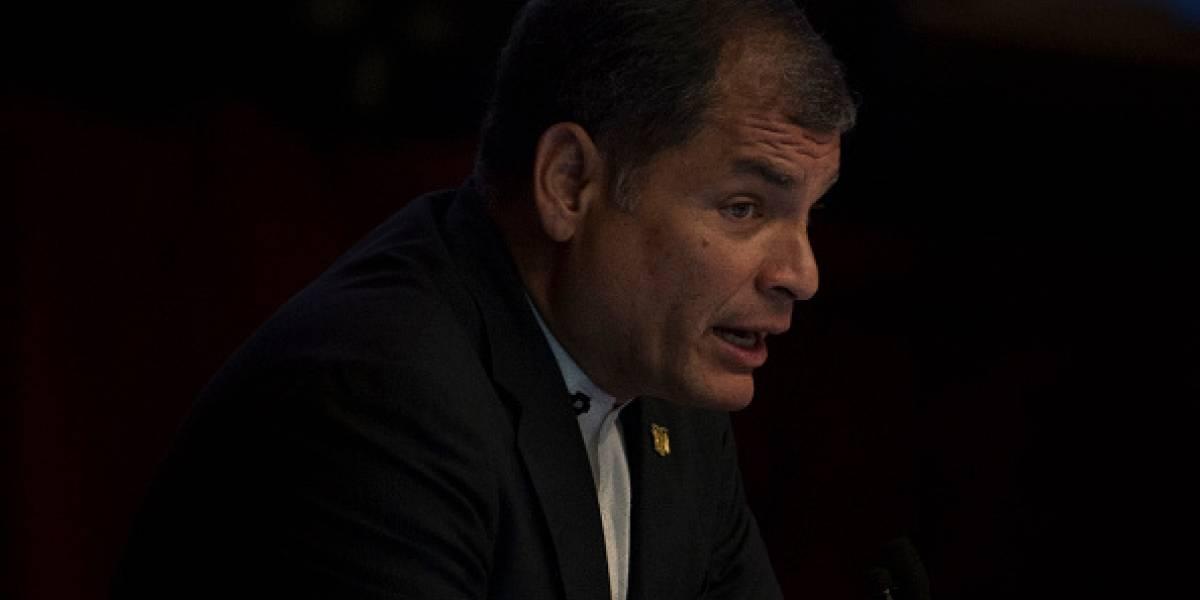 Rafael Correa y su polémico tuit: Las mentiras caen por su propio peso