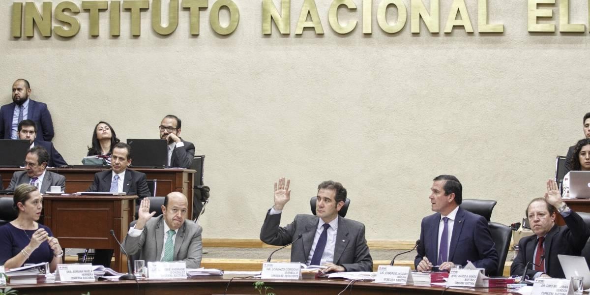 INE sanciona a MC y PRI con 77.9 mdp; pagarán a meses sin intereses