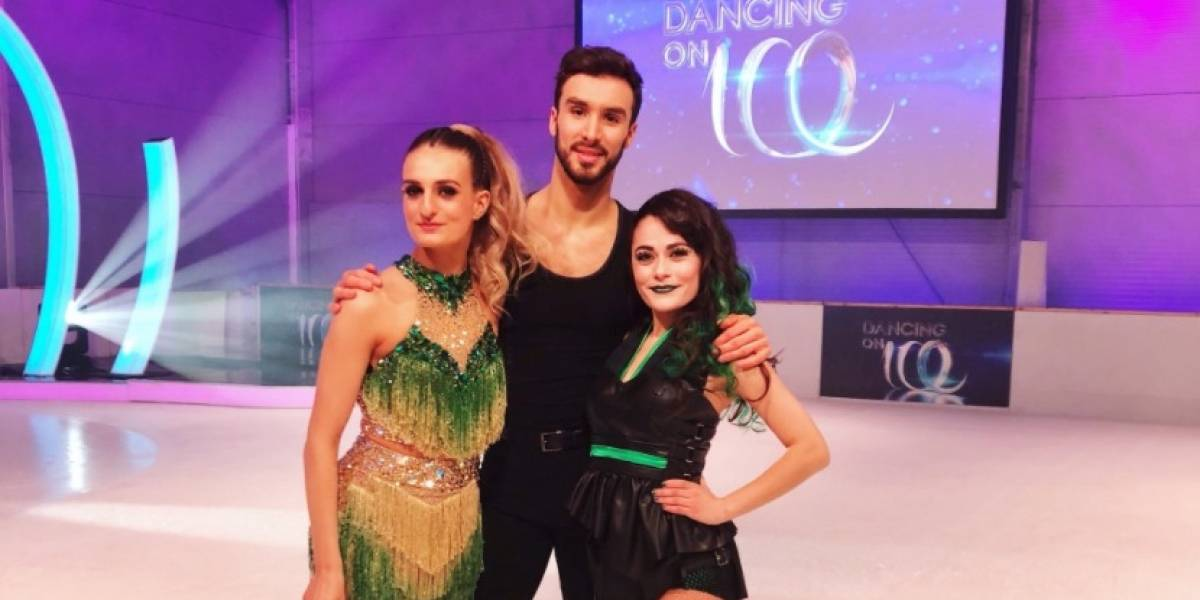 VIDEO: Patinadora mexicana hace historia al participar en 'Dancing on ice'
