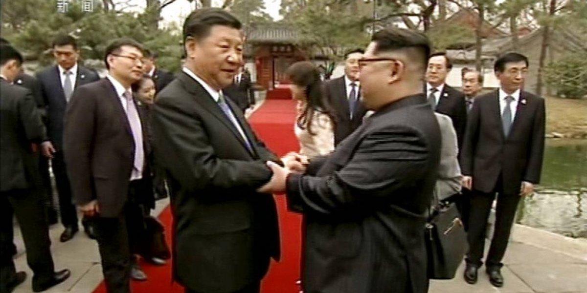 Kim Jong-un anunció estar dispuesto a desnuclearizar la península