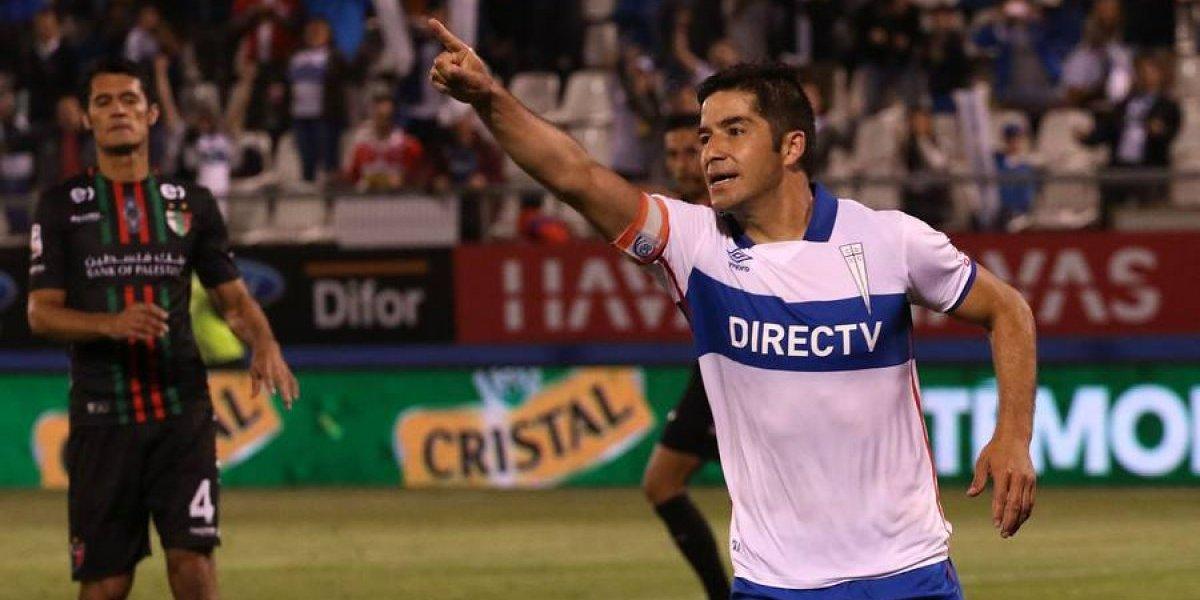 """Cristián Álvarez saca pecho para el clásico con Colo Colo: """"Aquí aparecen los jugadores más grandes"""""""