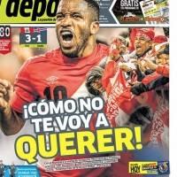 Los peruanos no paran de celebrar