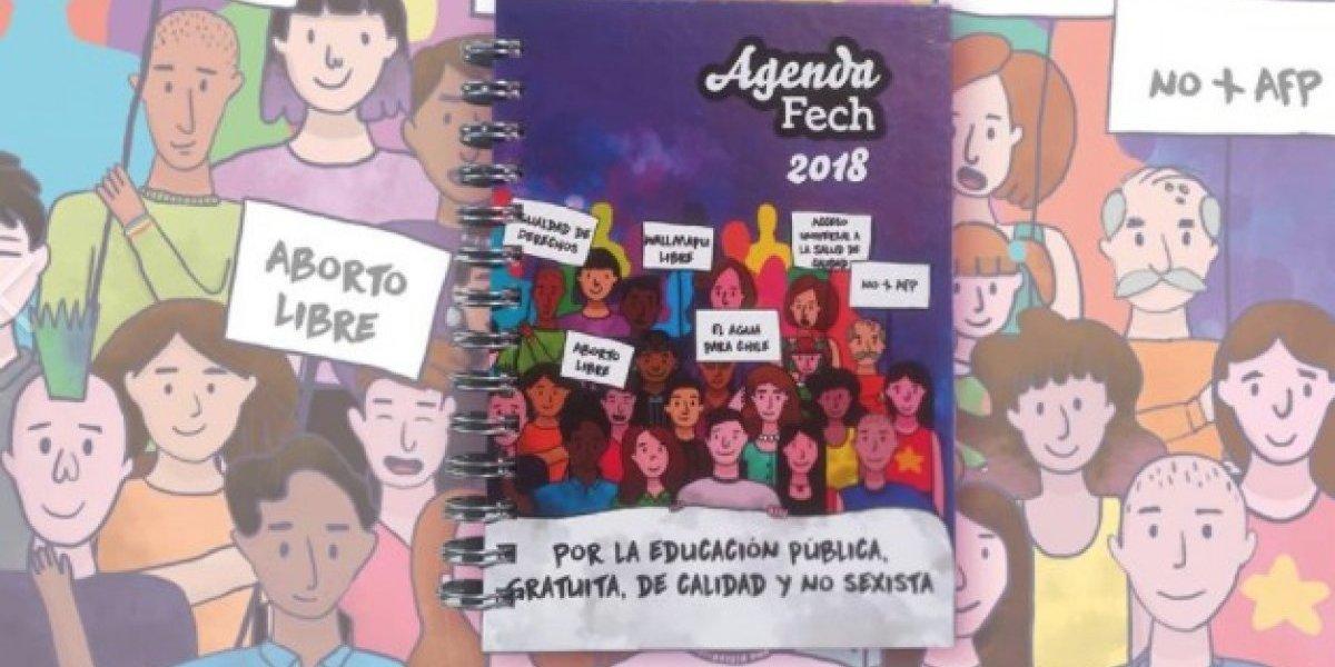 """¿Adoctrinamiento o información segura? Polémica por agenda FECh que incluye instrucciones para realizar """"aborto de emergencia"""""""