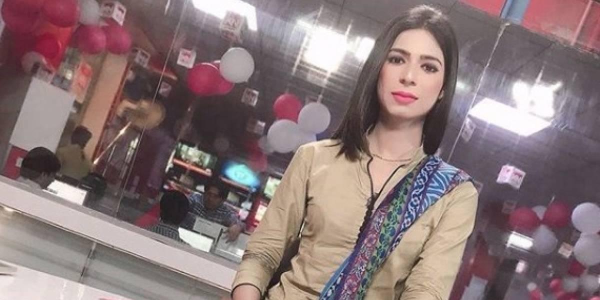 Marvia Malik, la primera presentadora transexual de la TV de Pakistán