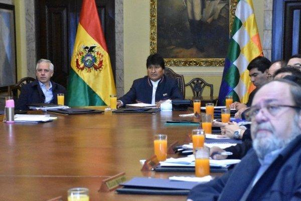 Evo Morales no quiso guardar silencio