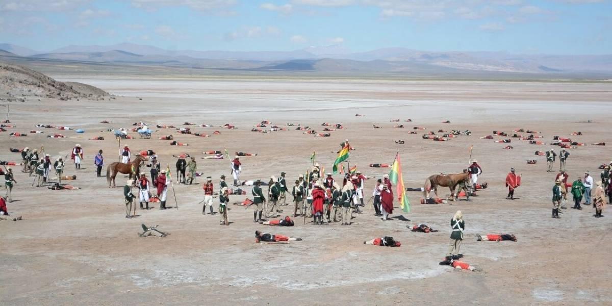 El show del Ejército boliviano como cierre de los alegatos orales: escenificará una batalla que nunca existió