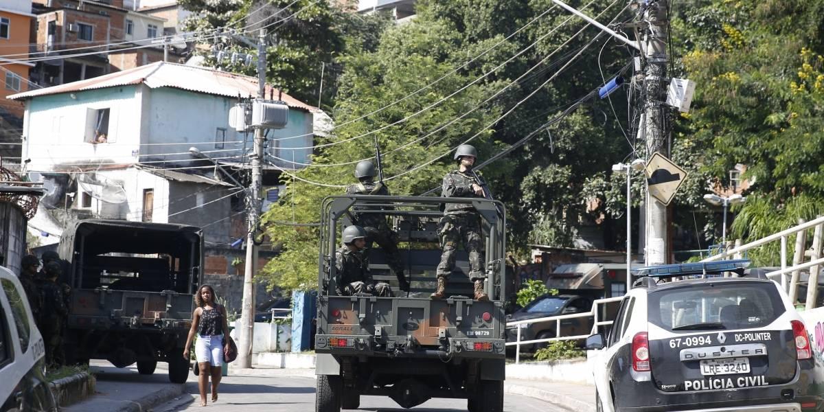 Ação em complexo de favelas do Rio termina com 24 presos