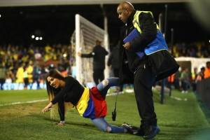 Hincha en Colombia vs Australia