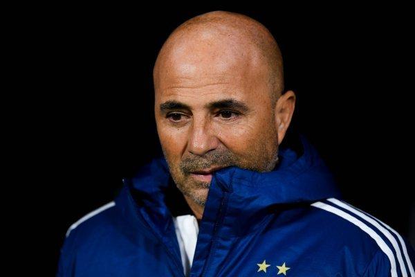 Jorge Sampaoli sufre en Argentina / imagen: Getty Images