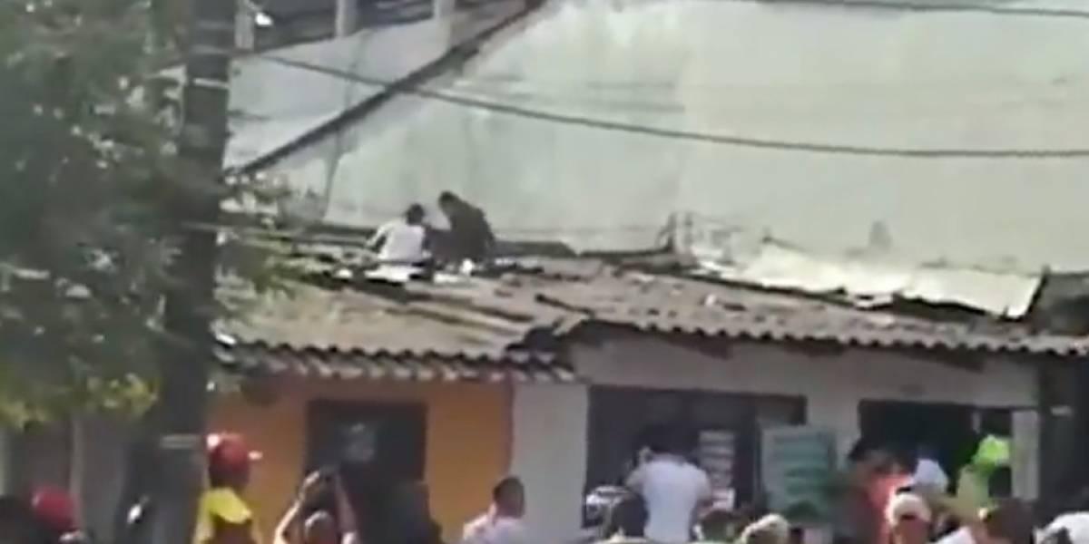 Video: así fue como este policía hizo una captura 'de película'