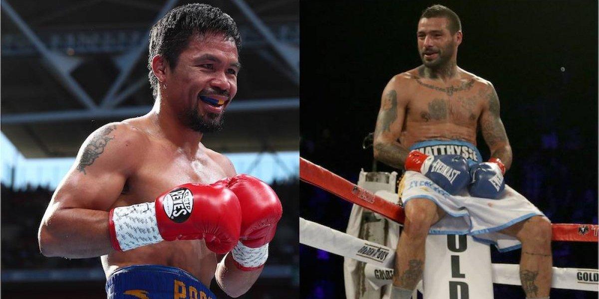 Manny Pacquiao enfrentará a Lucas Matthysse en Malasia