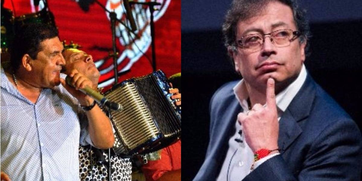 ¿Insultó Gustavo Petro a Poncho Zuleta en medio de un discurso?