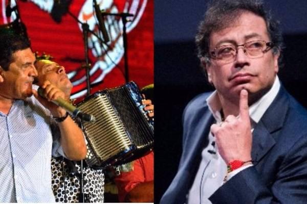 Poncho Zuleta y Petro