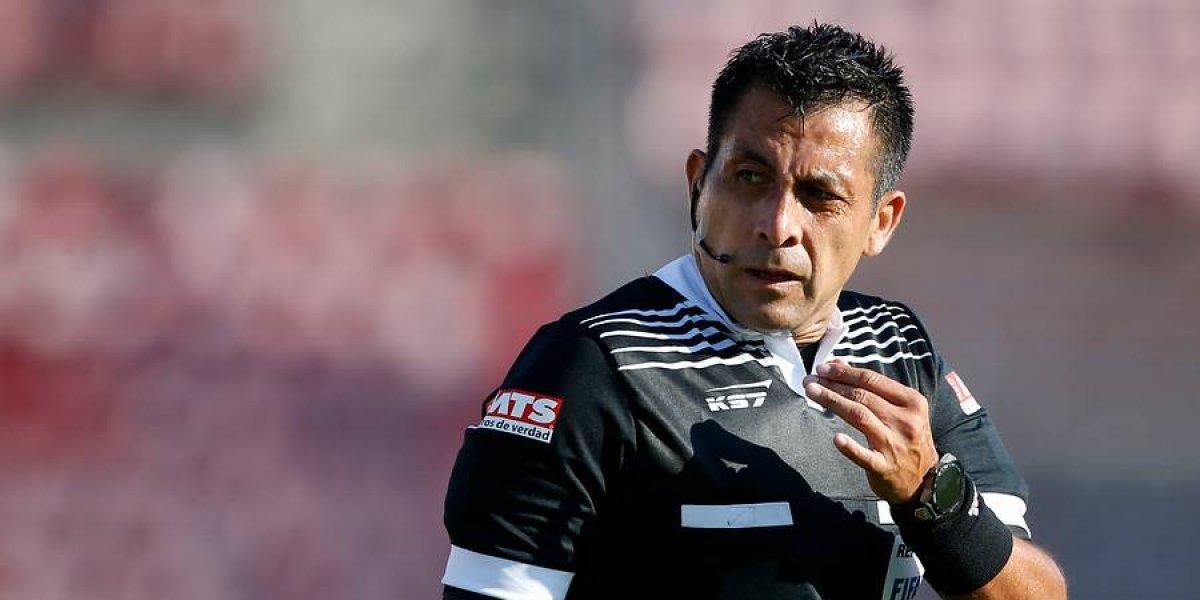 Julio Bascuñán será el árbitro para el clásico entre Colo Colo y Universidad Católica