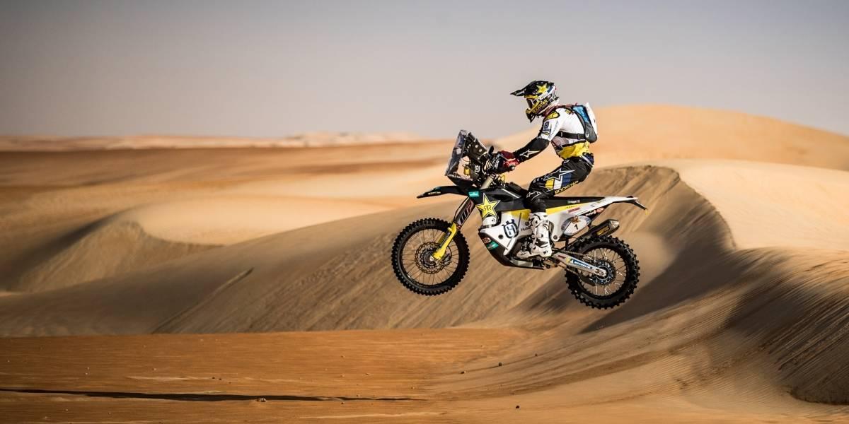 Pablo Quintanilla gana penúltima etapa en Abu Dhabi y sueña con el título