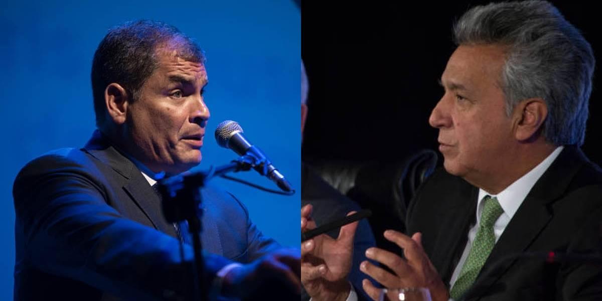 Rafael Correa respondió a Lenín Moreno sobre la situación en la frontera norte