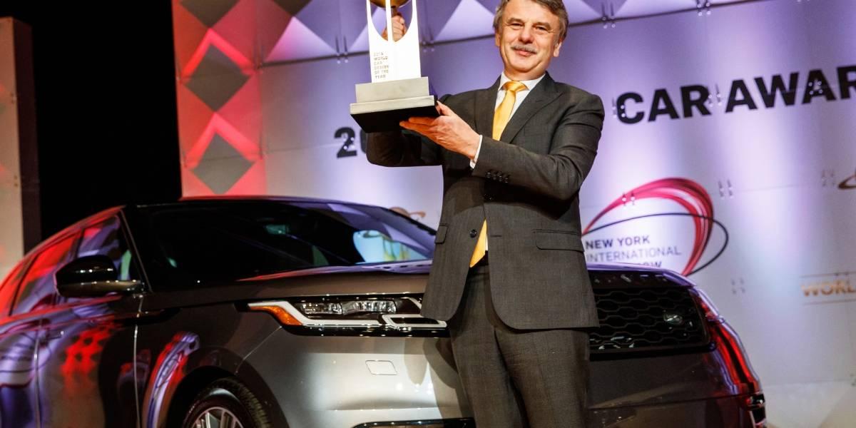 El Mejor Diseño del Año se lo adjudica el Range Rover Velar