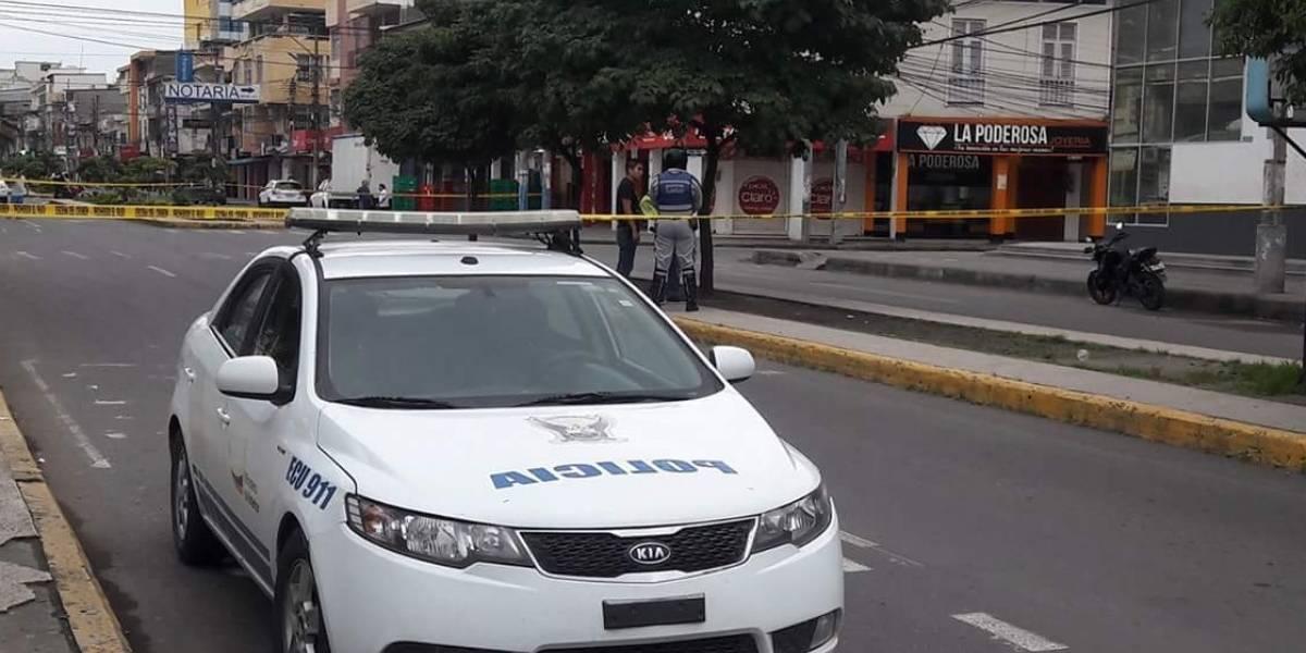 Tras alerta de bomba se evacúa zona del centro de Esmeraldas