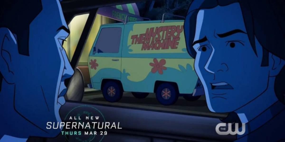 Desenho de 'Scooby-Doo' e 'Supernatural' destinará parte de lucros para caridade