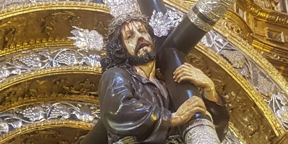 Jesús del Gran Poder, la imagen que lidera la procesión de Semana Santa en Quito