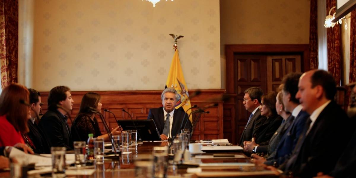 Lenín Moreno anuncia nuevo departamento de investigación, seguridad e inteligencia