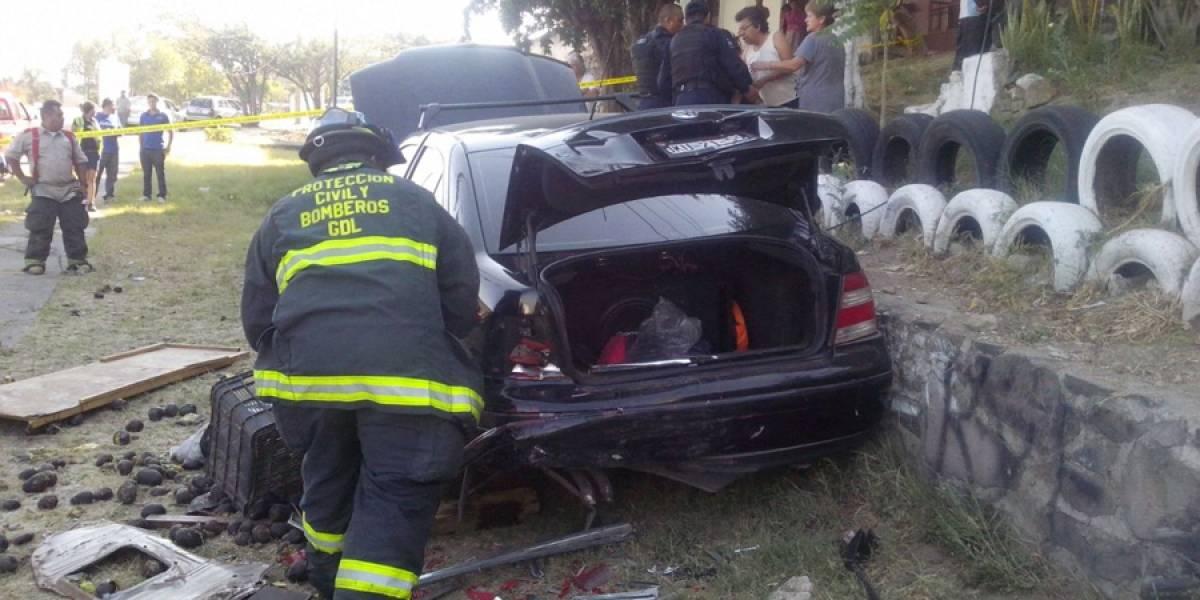 Automovilista murió atropellado por su propio coche en Guadalajara