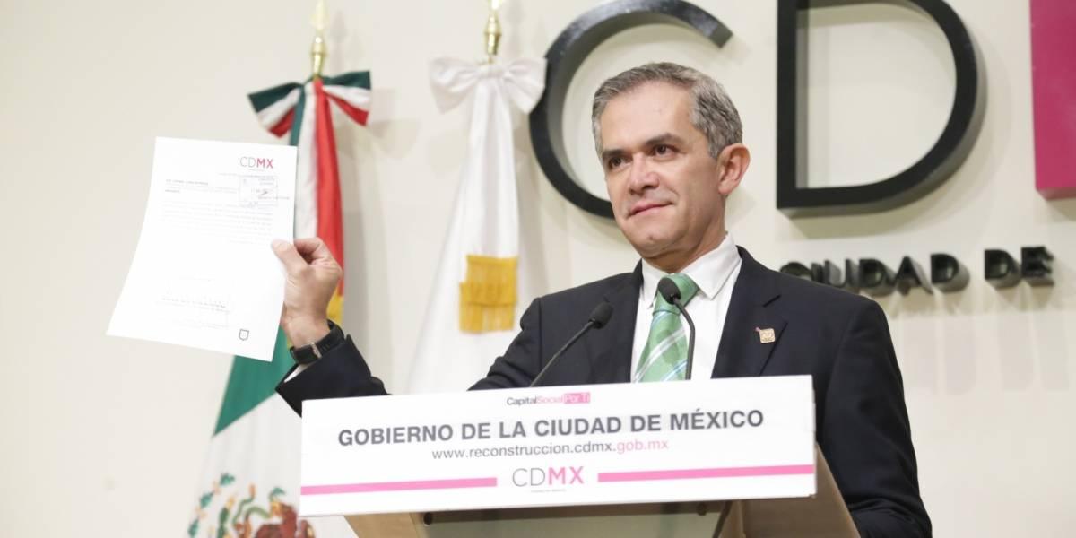 Mancera deja la CDMX; admite decisiones difíciles en su mandato