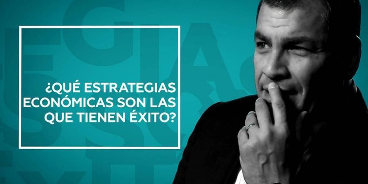 """""""Conversando con Correa"""" trasmitirá su quinto programa"""