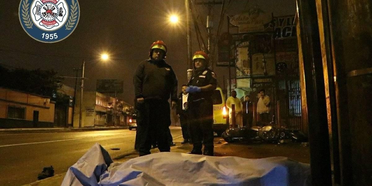 Una persona fallecida y una herida tras accidente en la calzada San Juan