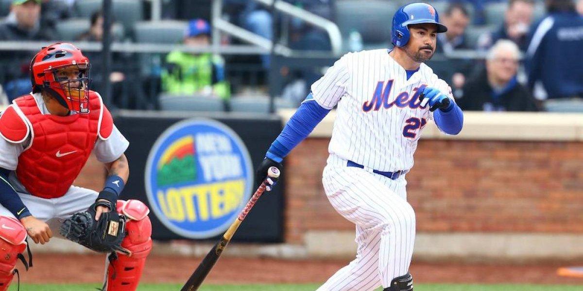 Adrián González tiene exitoso debut con los Mets de Nueva York