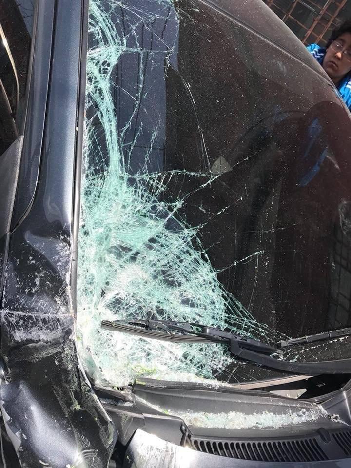 Accidente de tránsito. Foto: Facebook