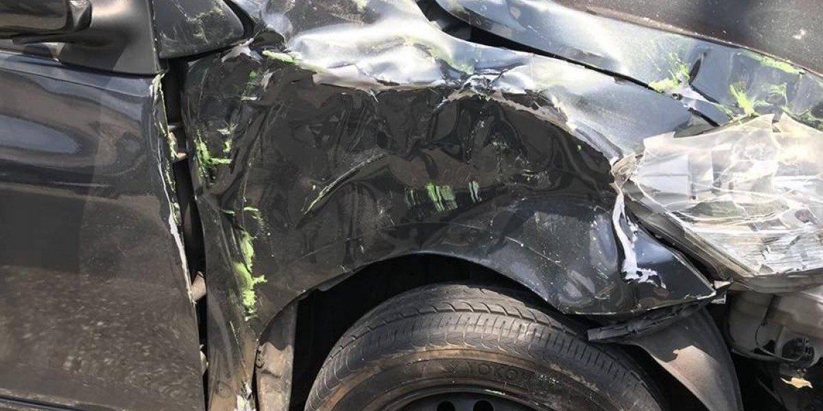 Ex gimnasta sufre fuerte accidente automovilístico y publica imágenes