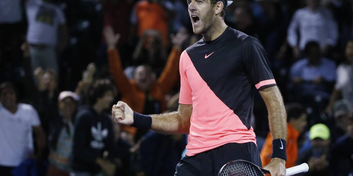 Juan Martín Del Potro avanza a semifinales en Miami y se acerca a pasos agigantados al número 3 del ATP