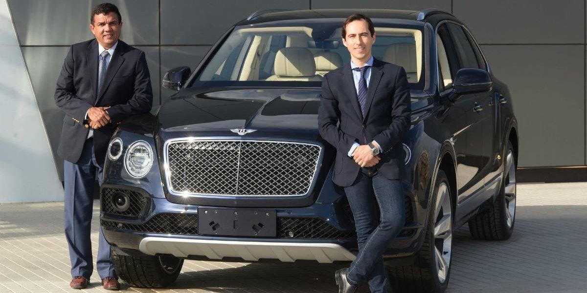 SKBergé toma la representación de Bentley