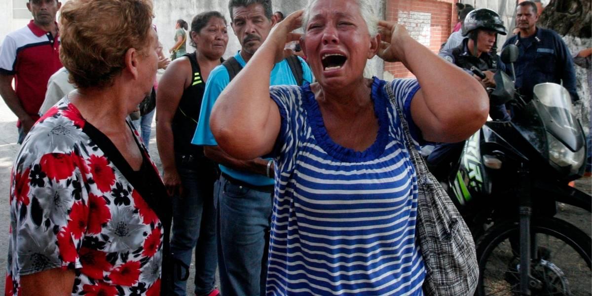 Al menos 68 muertos tras motín en calabozo policial de Venezuela