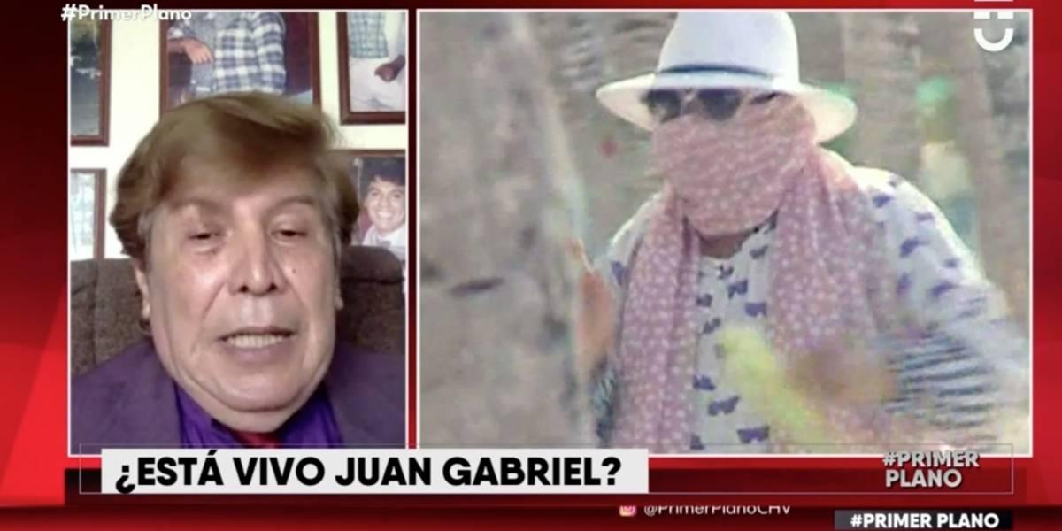 """Exmanager de Juan Gabriel aseguró en """"Primer Plano"""" que el """"Divo de Juárez"""" reaparecerá muy pronto y entregó pruebas de que está vivo"""