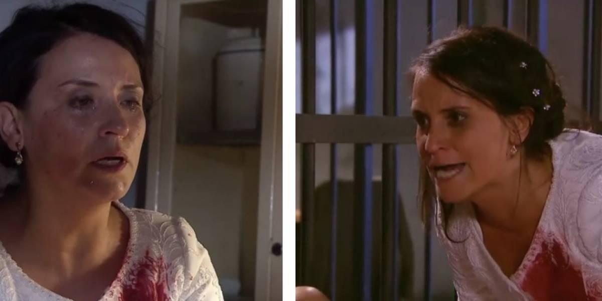 """""""¡Asesina CTM!"""": """"Silvia"""" se roba las miradas en """"Perdona nuestros pecados"""" y alaban actuación de Francisca Gavilán"""